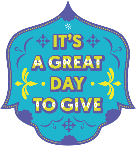 It's a great day to give