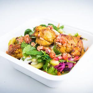 Salad chicken tikka
